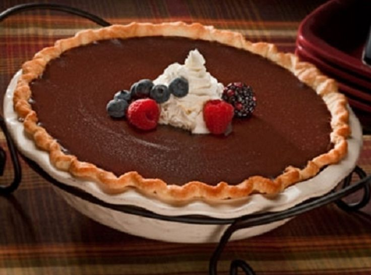 Hershey Hotel Chocolate Cream Pie - ahhhh! I used to get this there all the time. Can't wait to make it myself!