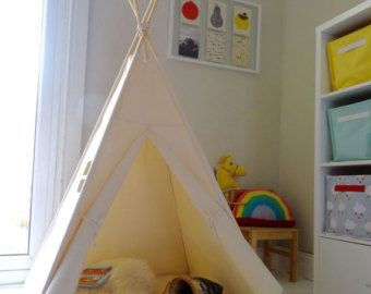 Large Teepee Playtent with Window INCLUDES by LittleMeTeepee