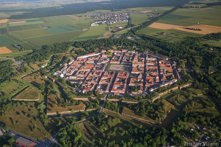 Neuf-Brisach - Haut-Rhin (France)