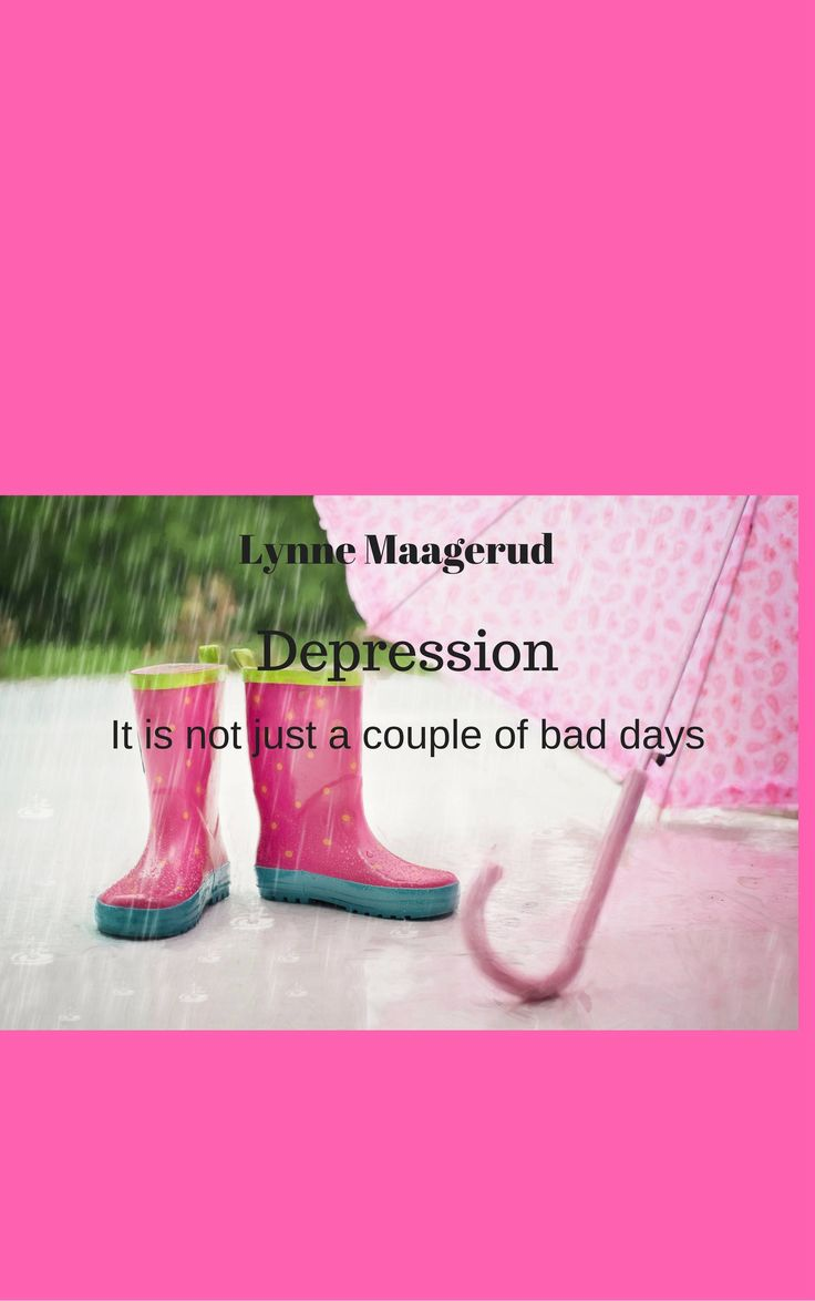 Depression - it is not just a couple of bad days by LynnesEbooks on Etsy
