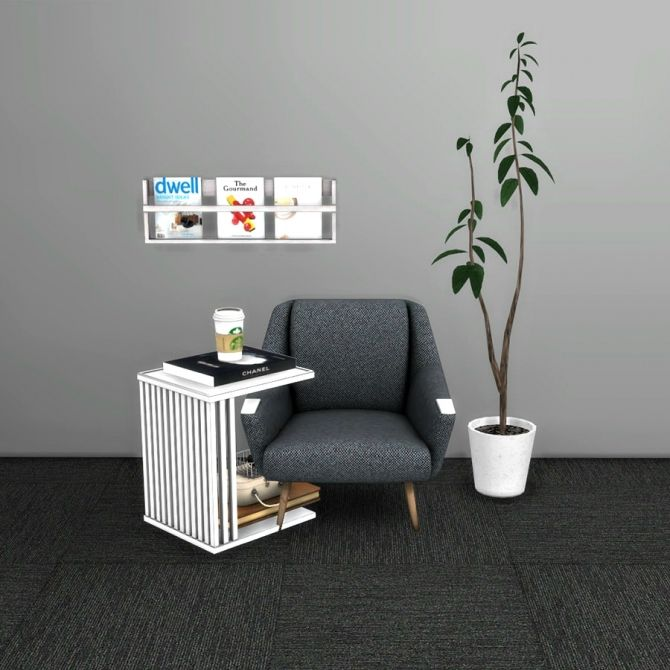 Side Table at Leo Sims • Sims 4 Updates