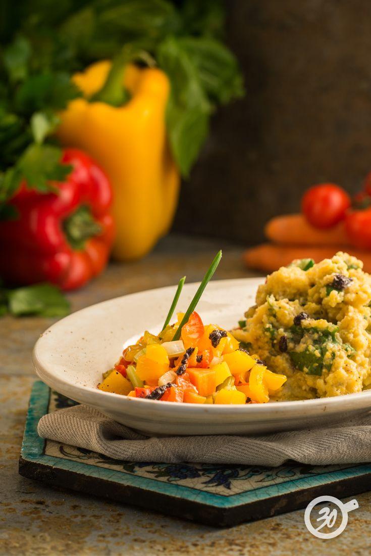 Polenta Integrale alle Erbette www.da30polenta.com #polenta #foodie #foodporn #veggie #vegan #verdure