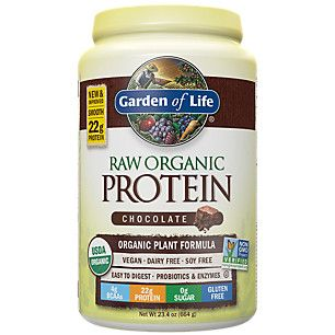 32$ Raw Protein - Real Raw Chocolate Cacao (664 Grams Powder)  by Garden of Life at the Vitamin Shoppe