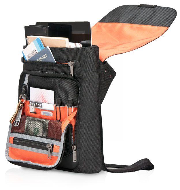 "Everki Venue Premium iPad/Kindle/Tablet RFID Mini Messenger | EKS622 | Laptop Messenger Bags | Cool Laptop Bags | 18.4"" Laptop Bags, Backpacks, Briefcases"