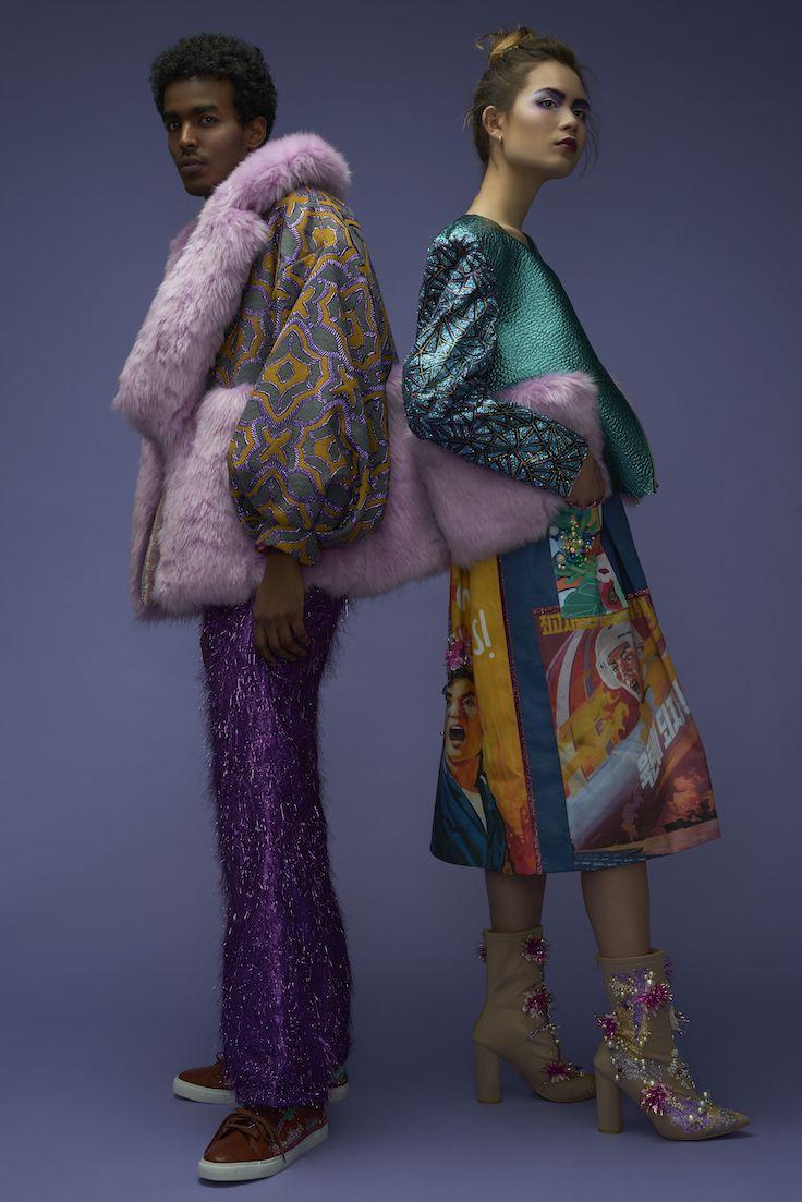 FLESH - Kimmie and Malin Take New York // AW 17/18 // Photographer : Oktawian Górnik // Photo assistant : Tymoteusz Tymek // MUA + hair : Marte Oestensen // Assistant : Mona Moore // Model : Sofia Heggelund // Model : Nasir Hashi