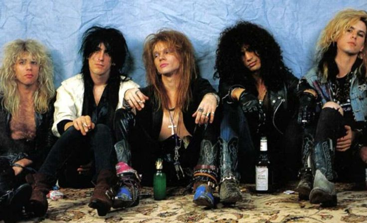 Original Guns N' Roses reunion news!