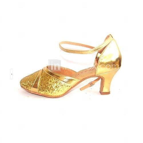 Бальная обувь блеск для тела