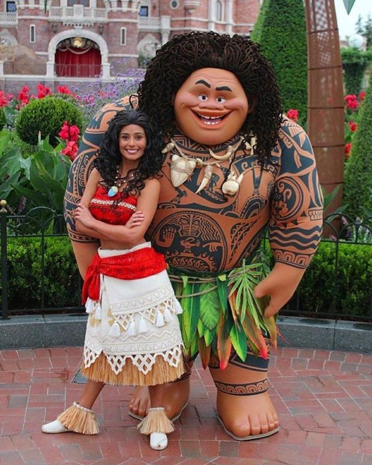 These look like face characters! Does this mean Moana and Maui are coming to the parks?