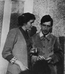 """Leonard & Virginia """"Once conform, once do what other people do because they do it, and a lethargy steals over all the finer nerves and faculties of the soul. She becomes all outer show and inward emptiness; dull, callous, and indifferent.""""  Virginia Woolf"""