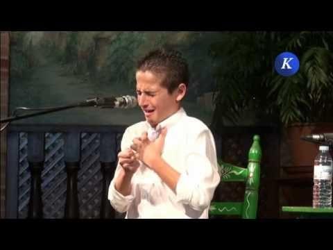 Antonio Carmona por alegrias: XXIX Concurso de Cante Flamenco ciudad de Carmona - YouTube