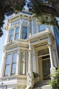 The Parsonage Bed and Breakfast, lodging in an Historic San Francisco Landmark Victorian mansion built in 1883
