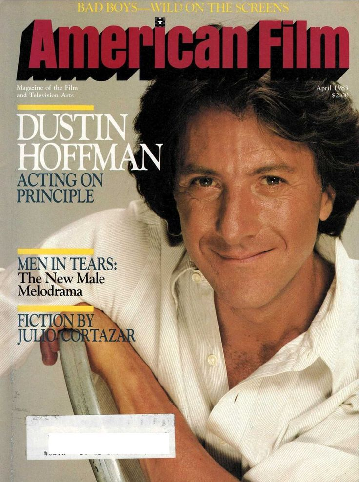 Magazine of the Film and Television Arts April, 1983 Articles: - Dialogue on Film: Dustin Hoffman - Hollywood Updates Images of Adolescence for Teenage Audience - The New Male Melodrama - Louis Gosset