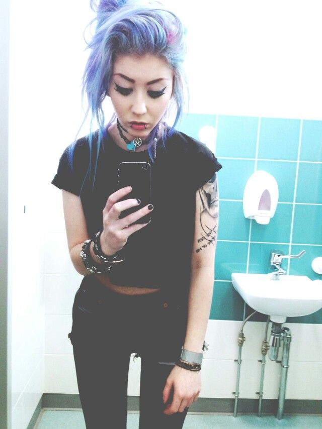 473 best images about mermaid hair on pinterest doe for Pastel goth tattoos