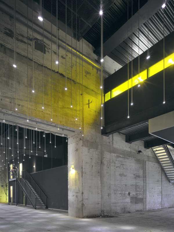 Alvéole 14 - An submarine bunker in Saint- Nazaire, France transformed into a cultural center by German office LIN Finn Geipel + Giulia Andi
