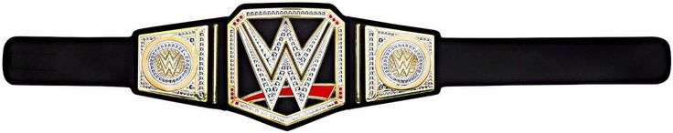 WWE Championship Belt Replica Wrestling World Heavyweight Kids Toy Mattel #Mattel