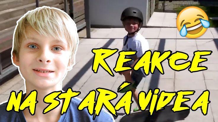 Reakce na moje stará YouTube skate videa - Moje první video!