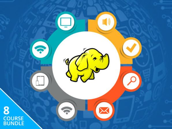 Big Data Mastery with Hadoop Course Bundle Discount - 91% Off   $453 - $39 - 91% Off : Massive Data Sets with 8 online course 44 Hours of Extensive Hadoop Training  Course No. 1 : Taming Big Data with MapReduce & Hadoop Analyze Large Amounts of Data with Today's Top Big Data Technologies Duration : 5 hours # of Lessons : 56Course No. 2 : Projects in Hadoop and Big Data: Learn by Building Apps Master One of the Most Important Big Data Technologies by Building Real Projects Duration : 10 hours…
