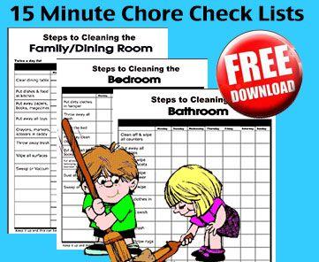 chores check list