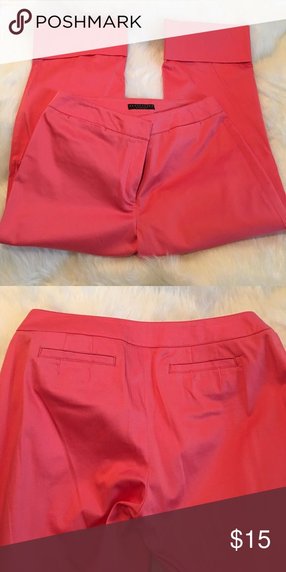 "Coral capri pant with cuff Wide leg Coral capri pant with 4"" cuff. 22"" inseam Pants Capris"