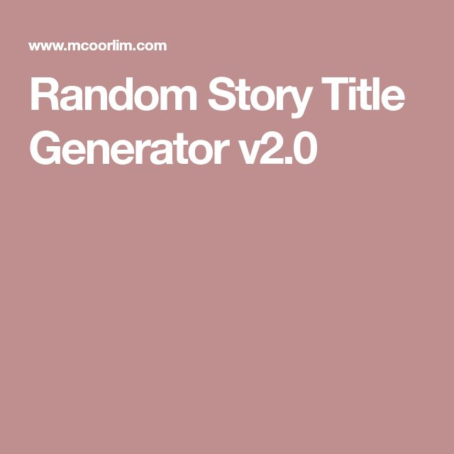 random research paper generator This idea generator is not designed to give you a topic it's just supposed to stimulate your own thinking click around through the ideas in the maze, which cover a.