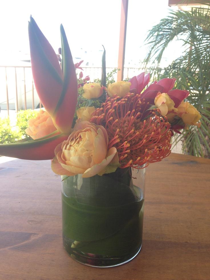 Best flower box centerpieces images on pinterest