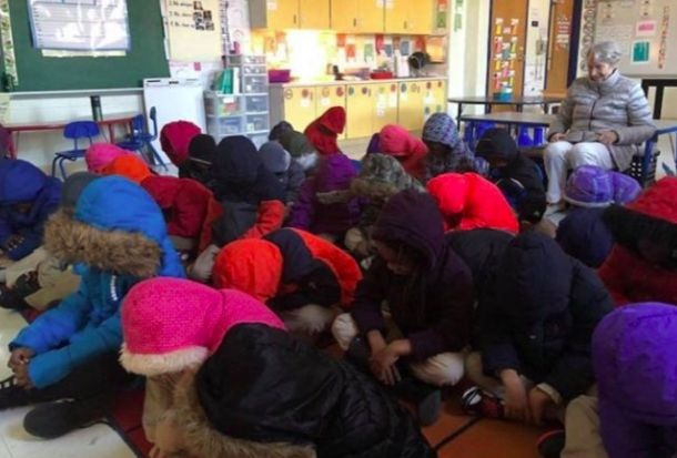 Amid Massive Snowstorm, Baltimore City Schools Closed Because They Have No Heat    One former student even started a GoFundMe for space heaters.