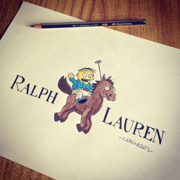 #RalphLauren by #CarmineArts