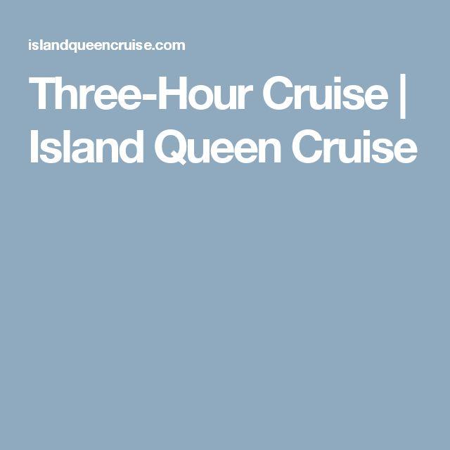 Three-Hour Cruise | Island Queen Cruise