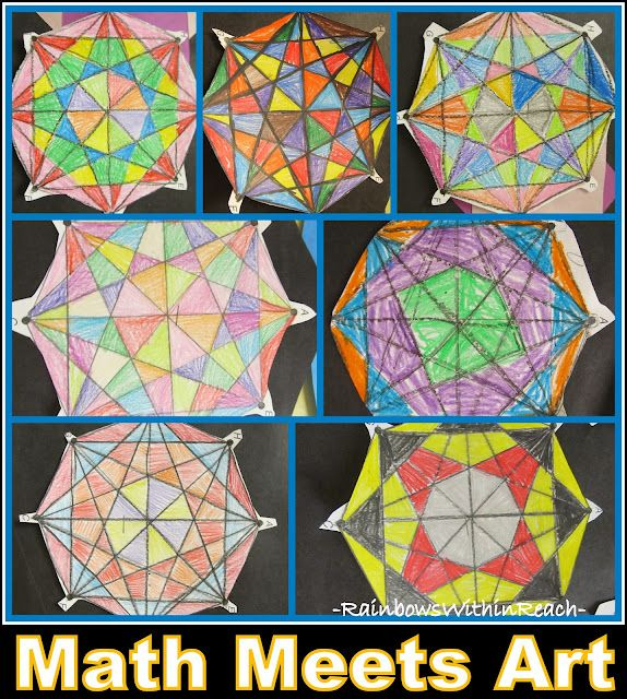Exploring Math in Primary Grades through Artistic Math Projects