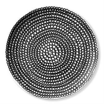 Tallriken Siirtolapuutarha, i två oliak storlekar med olika mönster,  tillhör serien In Good Company från Marimekko, och är formgiven av Sami Ruotsalainen med dekor av Maija Louekari. I serien finns koppar, skålar, tallrikar och tekannor i stilsäker, tidlös design. Originalmodellen utan dekor heter Oiva.