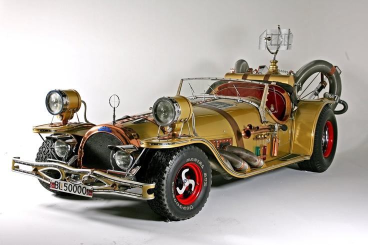 Steampunk car -  '78 II Tempo Gigante