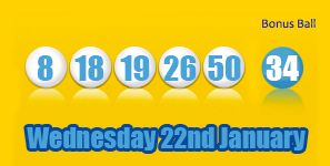The weekend is in sight but as regular as clockwork here is tonight's mid week Health Lottery draw: http://health-lottery.org/health-lottery-results-22nd-january/ #lottery