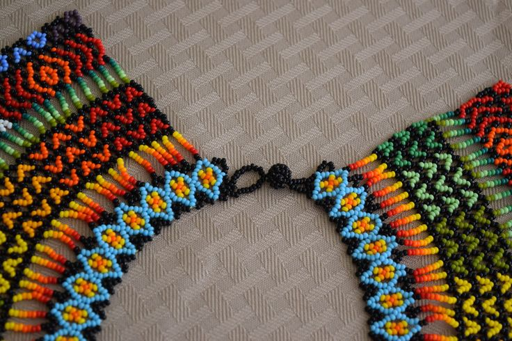 Colombian Glass Bead Necklace (BN538)   Little Colibri