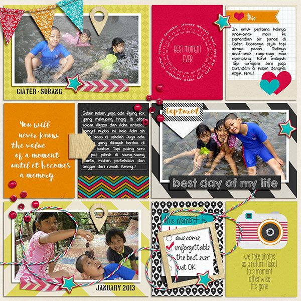 Capture The Moment [Bundle Pack]. 365Unscripted: Stitched Grids 2 by Traci Reed.
