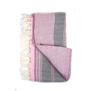 Bilde av Hamam towel linen - Rose