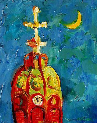 Mona Vivar New Orleans St. Mary's Assumption Church Southern Impressionist Art