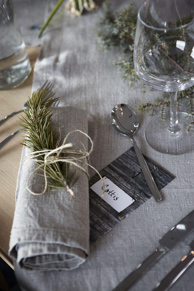 Dukningen från bröllopet inne på Árran #wedding #dinner