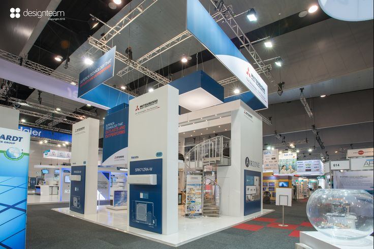 MITSUBISHI HEAVY INDUSTRIES @ ARBS makes a strong impact with this double story stand, demonstrating their latest technology and entertaining clients