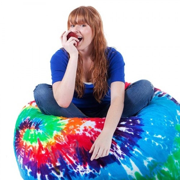 Large Multi Swirl Bean Bag Chair