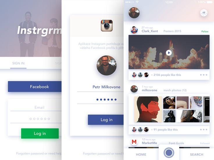 Instagram redesign part 1