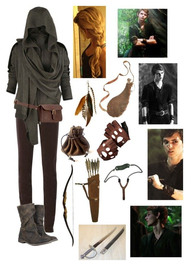 Lost Girl - Peter Pan by blackwidow321 on Polyvore featuring polyvore, fashion, style, Armani Jeans, AllSaints, Style & Co., Gilded Lily Goods, Aspinal of London, Once Upon a Time, clothing, peterpan, marvel, ouat, DC and Dccomics