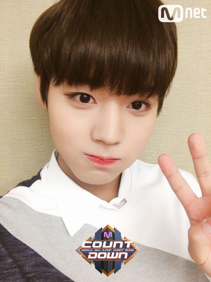 - Atualização do twitter do M!Countdown com Park Jihoon