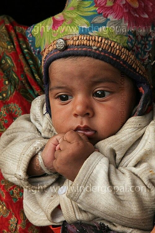 A child of Greek descent, Dha Nhu, Ladakh, India