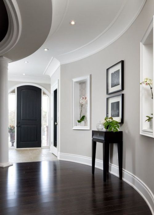 Ideas To Update Dark Wood Door And Window Trim With The Right Paint Colour  Like Sherwin
