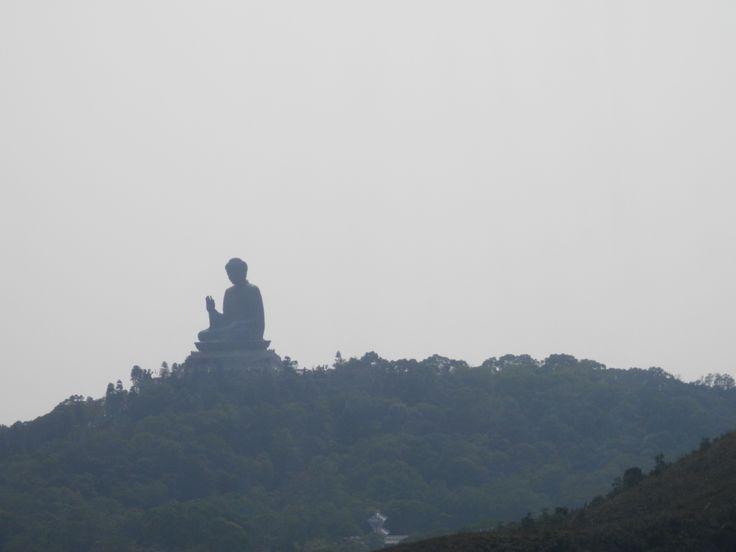 biggest Buddha statue in Asia (HK)