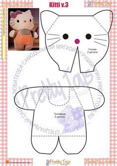 DIY Chihuahua Stuffed Animal - FREE Sewing Pattern   muñecos ...