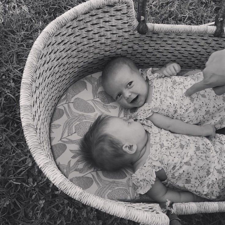 The cutest duo!  #wilsonandfrenchy #babystyle #nurserystyle #instacute  #australiandesign #babyblankets #babygift #babyshower #unisex