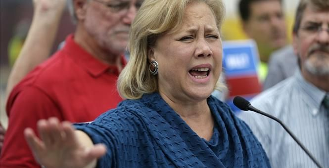 Done.  It's Over: DSCC Pulls Ads For Mary Landrieu in Louisiana Run-Off Katie Pavlich | Nov 06, 2014