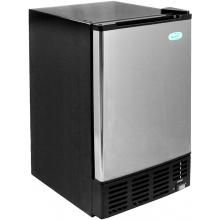 NewAir 12 Lb. Built-In Undercounter Ice Maker - Stainless Steel - AI-500SS : BBQ Guys