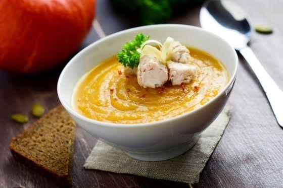 Тыквенный суп для иммунитета